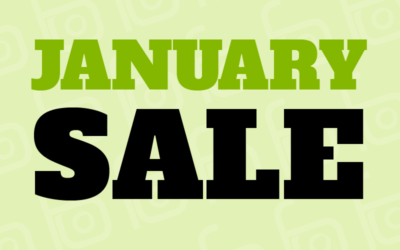 January Sale – FREE Anti-Reflection Coatings!