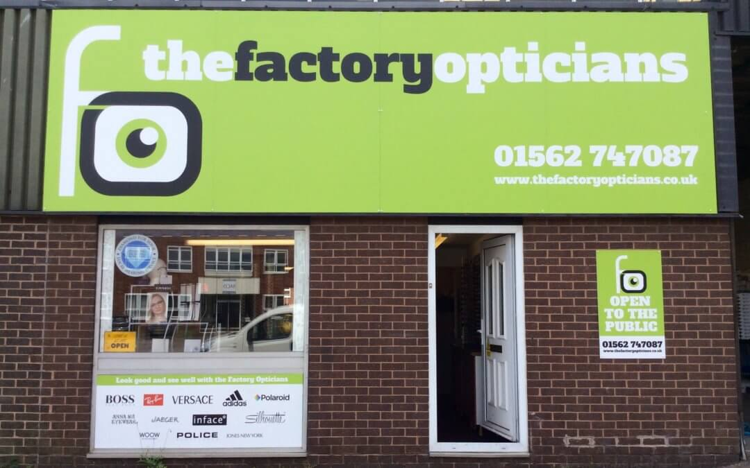 The Factory Opticians' New Look!