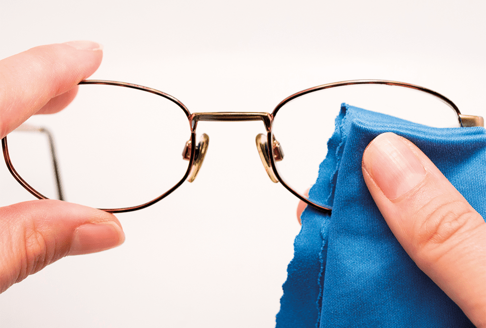 How to look after & clean your glasses